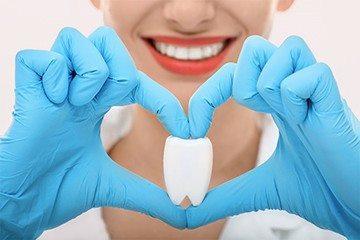 оценка состояния зубов пациента