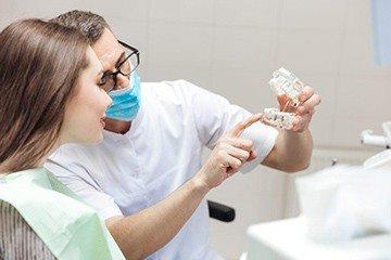 у ортодонта