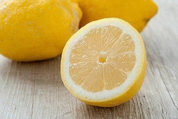 лимон как осветлитель эмали