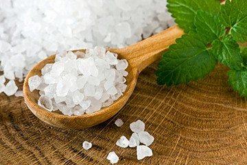 соль морская крупная