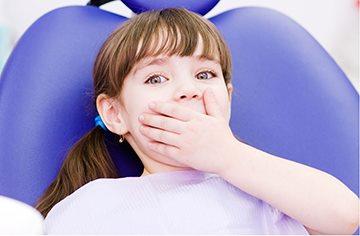 ребенок боится удалять зуб