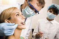 проверка состояния полости рта