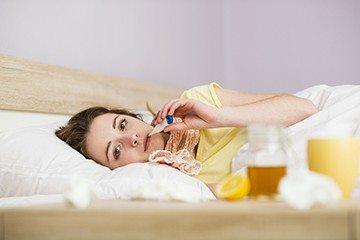 прогревание запрещено при ангине