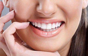 чистые зубы