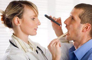 обследование полости рта