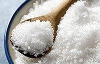 очистка зубов солью