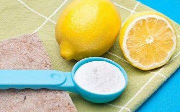лимон и зубной порошок