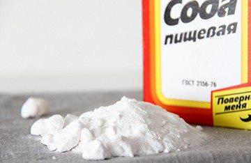 сода для очистки зубов