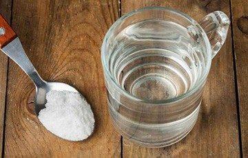 Содо солевой раствор для полоскания рта