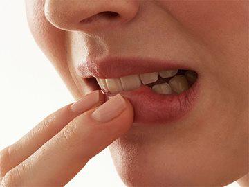 поражение полости рта