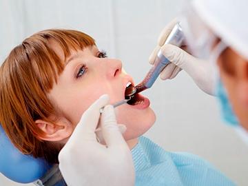 сверление зуба