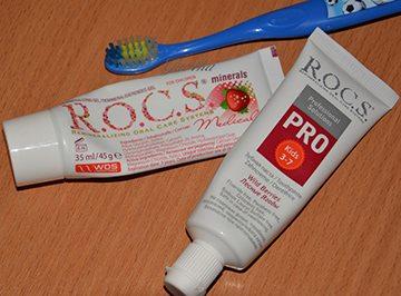 детская зубная паста R.O.C.S. PRO Kids «Лесные ягоды»